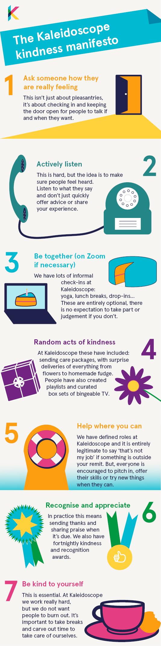Kaleidoscope kindness manifesto